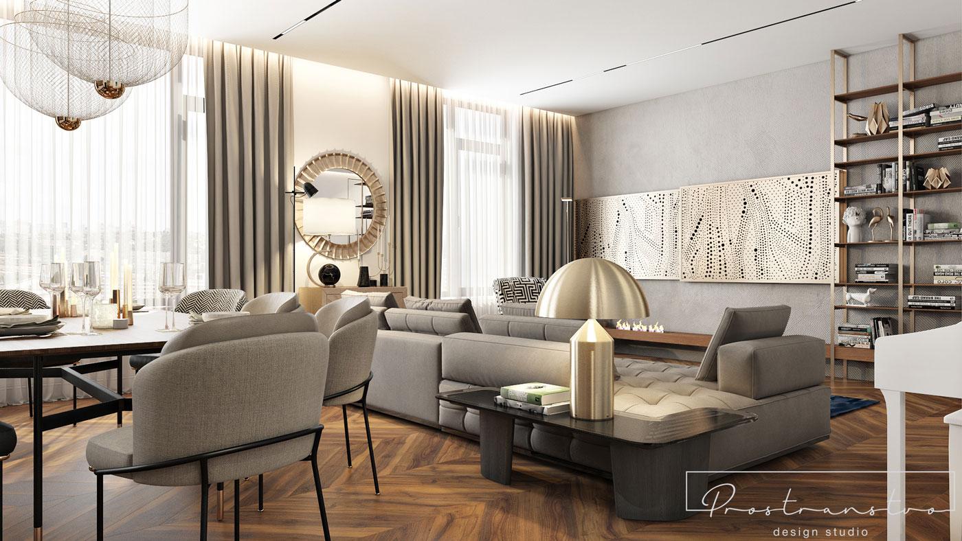 Apartment Dilova 28. Kyiv | 2021